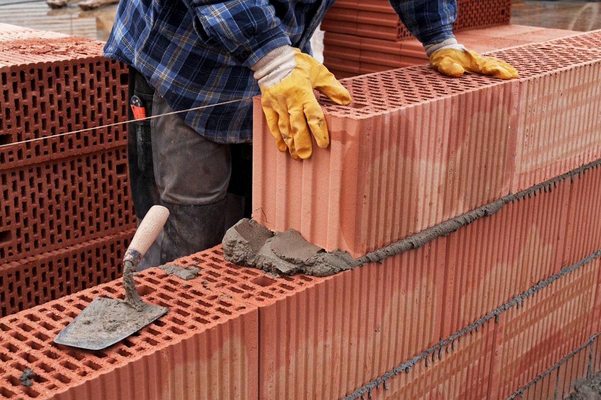 применение кирпича в строительстве